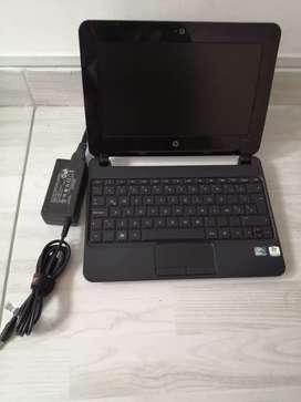 Mini Hp, 2 Gb de ram, disco de 160 Gb, con limpieza y programación actual. Lista para usar