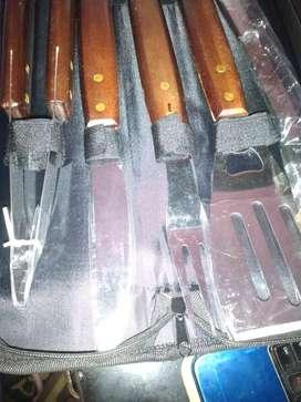 Juego de cucharones para asados
