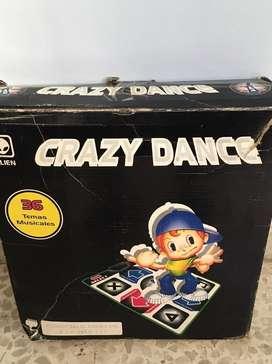 """ALFOMBRA DE BAILE """"CRAZY DANCE"""" CON CONEXION A TV"""