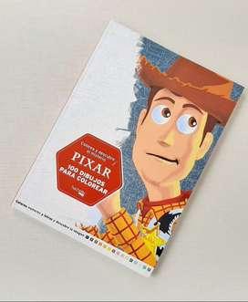 Libro Pixar para Colorear con Patrón - Guía de color