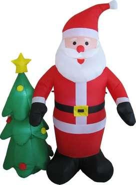 Muñecos inflables para Navidad y Halloween