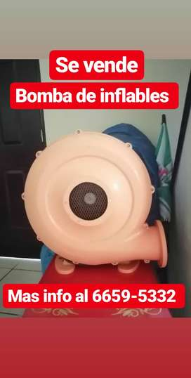 Bomba para inflables