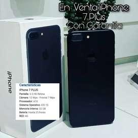 Vendo iphone 7 plus de 32 gbs como nuevo