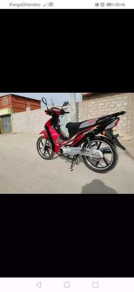 Vendo mi moto de dama