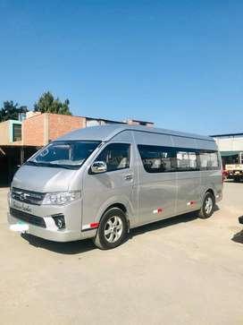 Higer Minibus Movilidad Escolar Diesel 2017-2018 (Similar a Toyota Hiace)