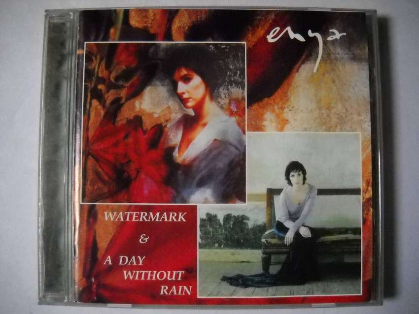 enya watermark / a day without rain cd 2 en 1 m/b estado
