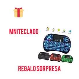 Mini teclado inalámbrico airmouse