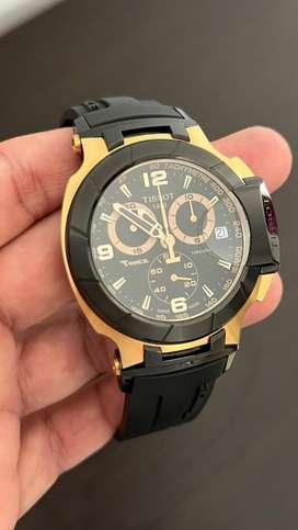 Tissot T-Race dorado Original