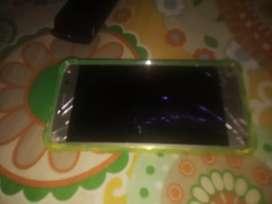 El celular funciona bien y el táctil funciona vien sólo que esta quebrada la pantalla x eso lo doy barato coje sin y
