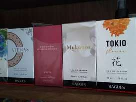Perfumes Bagues hombre y mujer