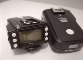 Disparadores RF Ttl Pixel King Pro Para Sony Lineas A7 Y A6000