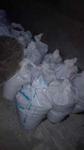 Vendo bolsas con arena