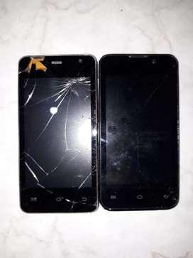Vendo celulares viejitos es mal estado a dos mil pesos (2000)