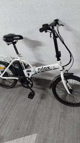 Bicicleta NUEVA plegable  Electrica Nilox negociable