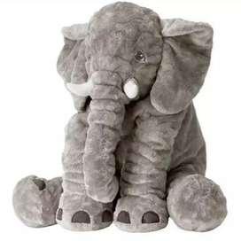 Almohadas elefantes bebes 60 cm comoda, suave