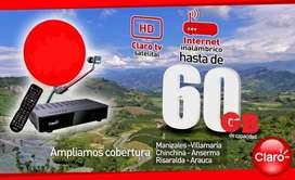 CLARO te ofrece Internet Satelital y TV HD
