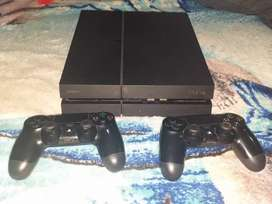 Playstation 4 con dos joystick