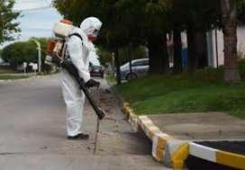 Servicios de fumigación desinfección y lavado de tanques autorizados por la secretaria de salud