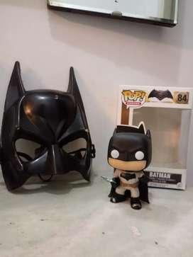 Muñeco Batman + Mascara