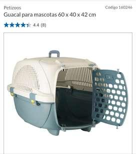 Guacal grande 60 × 40 x 42 nuevo  !!