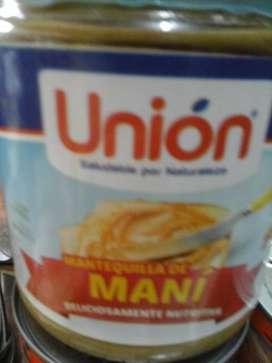 MANTEQUILLA DE MANI DE LA UNIVERSIDAD DE LA UNIÓN 410 GRAMOS