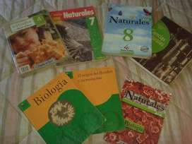 LIBROS DE CIENCIAS NATURALES Y BIOLOGIA