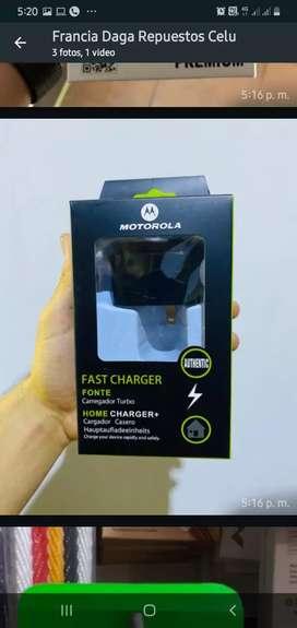 Cargador Motorola Turbo tipo c Carga rápida