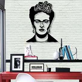 Cuadros minimalistas de Frida Kahlo