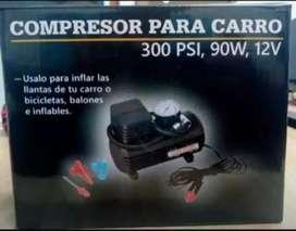 Vendo mini compresor portátil
