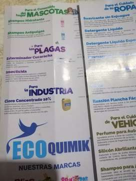 Productos ECOQUIMIX