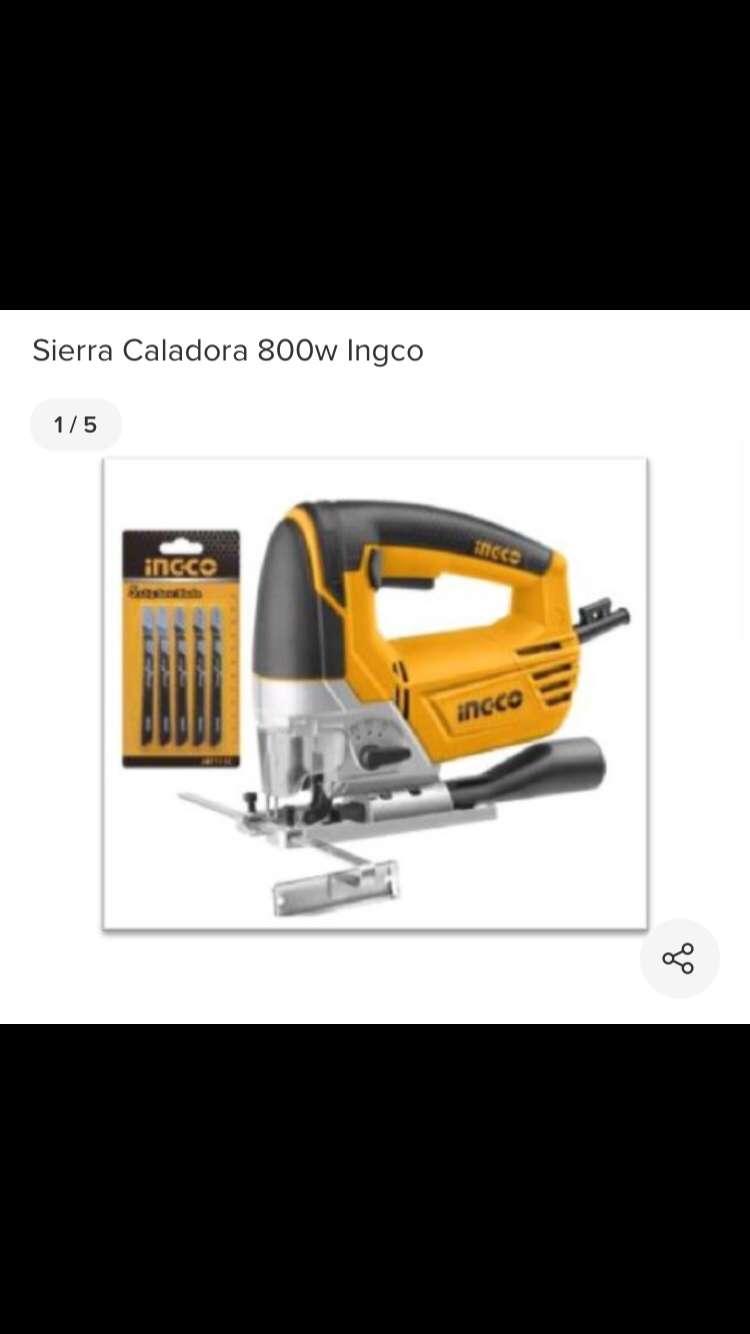 Vendo esta cierra caladora Ingco 800w