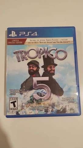 Trópico 5 PS4 FÍSICO