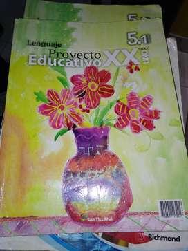 Santillana-Lenguaje proyecto educativo XX Siglo Uno 5.1