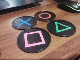 Portavasos de playstation (4 unidades)