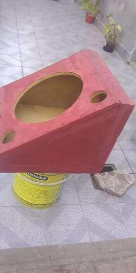 Caja para buffer de 12 pulgadas