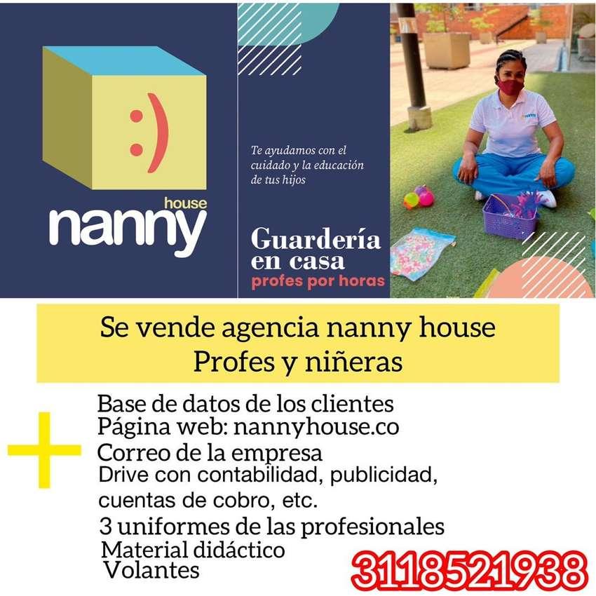 Se vende agencia nannny house, profes y niñeras