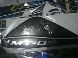 Yamaha mt03 Proteccion tanque frontal y laterales