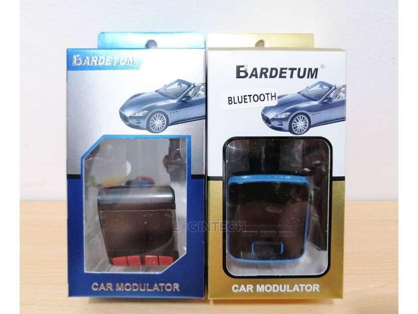 Transmisor Fm Bluetooth Para Carro Cargador, 2Usb MicroSD Mp3