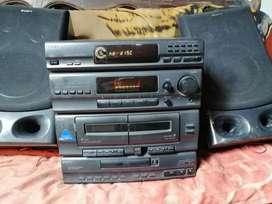 Vendo equipo sony funcionando radio auxiliar cd blutud
