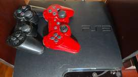 Play station 3, 3 controles, 3 discos, Q1200