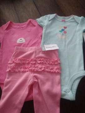 Ropa Carter's Nueva Nenes Vs Talles
