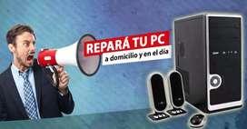 Reparacion de Pc a Domicilio Y en El Día