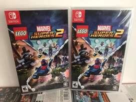 Lego Marvel Super Heroes 2 Nintendo Switch Nuevo