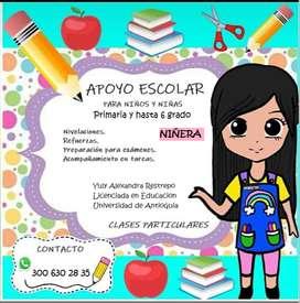 Niñera - Apoyo pedagogico - Acompañamiento infantil
