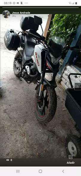 Se vende hermosa moto axxo 250