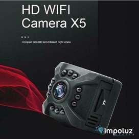 Camara Mini Con Vision Nocturna Audio Y Video Pequeña