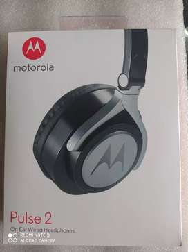 Diadema Motorola Pulse 2. On Ear Wired Headphones 100 % original