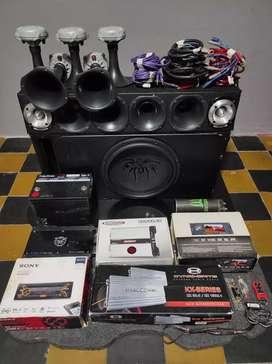 Lote audio car armado completo