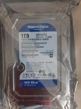 Discos Duros Western Digital De 1 Tb Para Pc, Totalmente Nuevos 2020.