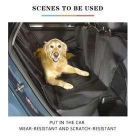 protector para asiento trasero de carro, mascotas, perro